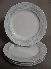 4 Excel China Dinner Plates In The Somerset Pattern, Made In China