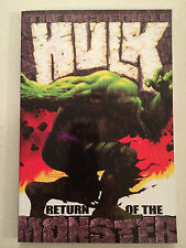 The Incredible Hulk Return of the Monster collects volume 2 #34-39 Bruce Jones