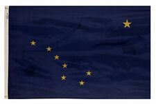 4x6 ft Alaska The Last Frontier Official State Flag Outdoor Nylon Made in Usa