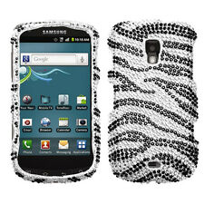 Samsung Transform Ultra M930 Crystal Diamond BLING Case Cover Streaming Hearts