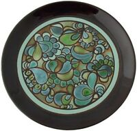 Superb Poole Pottery Ionian Plate By Julia Wills 1970's