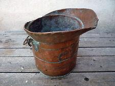Décalitre,ancienne mesure en cuivre