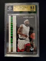 2003-04 UD Top Prospects PROMO #P2 LeBron James ROOKIE  BGS 9.5