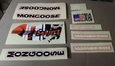 MONGOOSE PRO (COMPLETE SET DECAL) (NEW) FAST SHIPPING!!