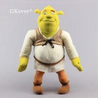 Shrek Ogre Plush Toy Soft Stuffed Doll 16'' Green Monster Figure Kids Xmas Gift