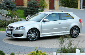 Side Skirts S3 look for Audi A3 8P (2003 - 2013) - Fits 3 Doors Model