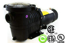 Energy Efficient Variable Speed 1 HP Swimming Pool Pump Strainer UL LISTED 2""