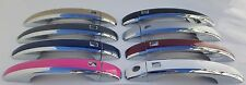 Color & Chrome Door Handles Overlays 2008 2009 2010 AUDI A4 YOU PICK YOUR COLOR