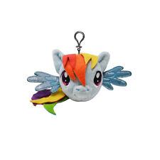 My Little Pony Blue- Rainbow Dash Backpack Plush Coin Clip Key Chain Toy Bag