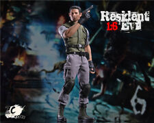 Zctoys 1/6th Resident Evil Policeman Chris Redfield Collectible Action Figure
