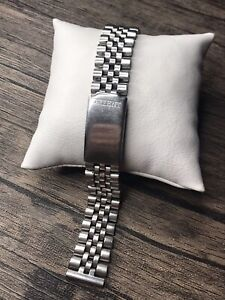 Orient Bracelet Metal Band For Watch  Vintage Stainless Steel