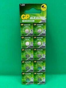 GP LR41 192 AG3 392 SR41 COIN CELL 1.5V BATTERIES BATTERY