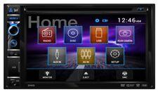 "New  Dual DV605 6.2"" 2 DIN AM/FM CD/DVD USB EQ Car Stereo Receiver OPT REAR CAM"