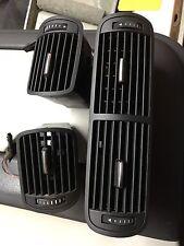 AUDI A3 S3 8L Illuminated Dash Heater Air Vents Full Set