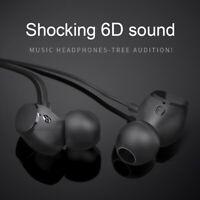 3.5mm Wired HIFI Super Bass Headset Stereo Earbuds Headphone In-Ear Earphone Mic
