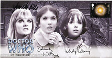 More details for dr who - the troughton trio 'special' - signed by padbury, watling & wills