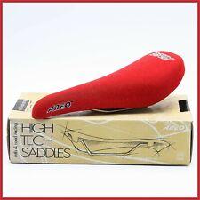 NOS AREO SADDLE SEAT VINTAGE 90S RED ROAD RACING BIKE BICYCLE MOUNTAINBIKE MTB