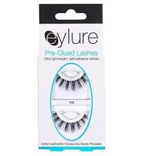 EYLURE PRE-GLUED #119 LASHES ADHESIVE REUSABLE BRIDAL MAKEUP BIG FALSE EYELASHES