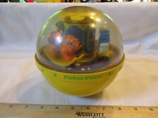 Vintage 1985 Fisher Price Roly Poly Chime Ball 1150 Rocking Horse Bear Swan