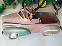 1941 Steelcraft Chrysler Pedal Car ,all Original, All In Good Working Condition,