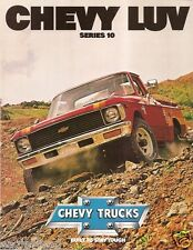 Truck Brochure - Chevrolet - Chevy - Luv - Series 10 - Pickup - c1979 (TB731)