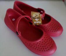 Damen Schuhe Ballerinas Kunststoffschuhe Bade-/Wasserschuhe Rot Gr.39 NEU