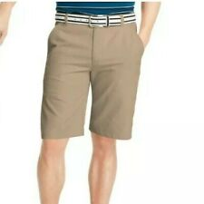 Men's IZOD Solid Microfiber Performance Golf Shorts size 38W