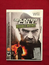 Nintendo Wii Tom Clancy's Splinter Cell Double Agent Video Game Rated M