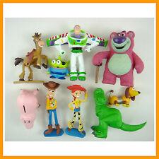 Set of 9 Mini Toy Story 3 Buzz Lighter Woody Jessie Figures Dinosaur Lotso +GIFT
