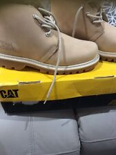 Womens Cat Caterpillar Mandy Chukka Golden Beige New & Boxed