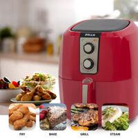DELLA 1800W 5.8 QT XL Electric Air Fryer Healthy Low-Fat Multi-Cooker Oilless