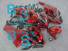 Red Glossy INJECTION Fairing Kit Set Fit Honda CBR1000RR 2004-2005 68 A3