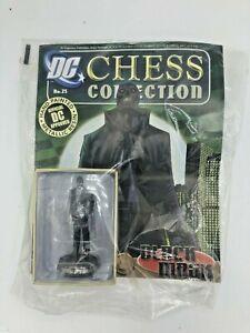 New Sealed Eaglemoss DC Chess Collection Figure #25 Black Mask & Magazine! NIB