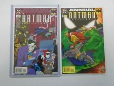 Batman Adventures annual #1+2 8.5 VF+ (1994+95 1st Series)