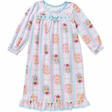 Girls Disney Frozen Long Sleeve Nightgown Pajamas New with Tags Size 5T Comfy