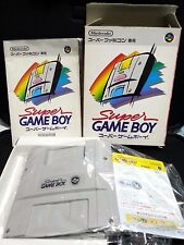 Super Game Boy Nintendo Super Famicom SFC SNES Boxed JP import Free Shipping