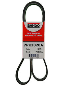 Serpentine Belt fits Nissan 370Z Infiniti QX50 QX70 VQ37VHR  Bando 7PK2020A