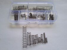 54pcs 0.4mm Wire Diameter 304 Stainless Steel Compression Spring Springs Set