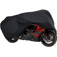 """UNIVERSAL MOTORCYCLE SPORT BIKE COVER STREET STORAGE COVERS SHELTER 90/"""" LENGTH"""
