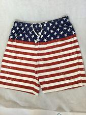 New listing Open Trails Men's Shorts, 2Xl, American Flag Design