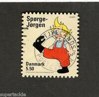 Denmark SC #1482 SPORGE-JORGEN Θ used stamp