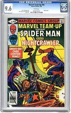 Marvel Team-Up #89 CGC 9.6 NM+  Wht pgs Nightcrawler. 1/80   Rich Buckler & Joe
