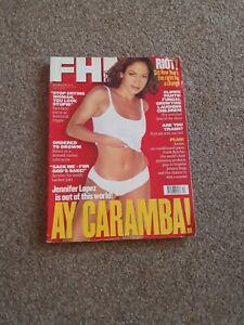 FHM Magazine #107, December 1998 Jennifer Lopez, Tina Arena, Jordan