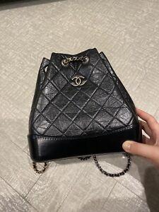 Chanel Gabriel Backpack Black