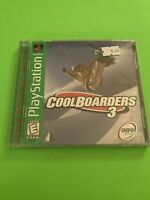 🔥 PS1 PlayStation 1 PSX GAME 💯 COMPLETE WORKING GAME 🔥COOL BOARDERS 3 🔥