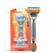 Gillette Fusion Power Razor handle shaving Men Duracell Battery Preloaded Blade