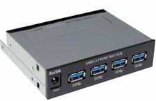 4 Port 3.5 inch Front Bay USB 3.0 Internal Hub