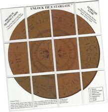 "Stargate Movie - 12 Card ""Unlock The Stargate"" Game Subset Chase Set 1-12 - 1994"