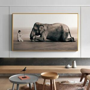 Buddha Modern Painting Nordic Posters Wall Decor Poster , no Framed