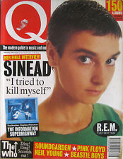Q 96 1994 Sinead O'Connor Who Rolling Stones Soundgarden REM Charles Manson